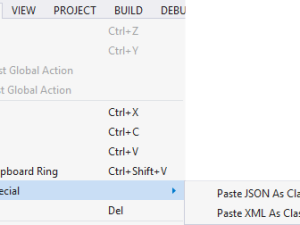 Quick Tipp: Visual Studio – Paste JSON/XML As Classes